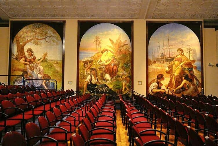 Murals in the Columbian Theater