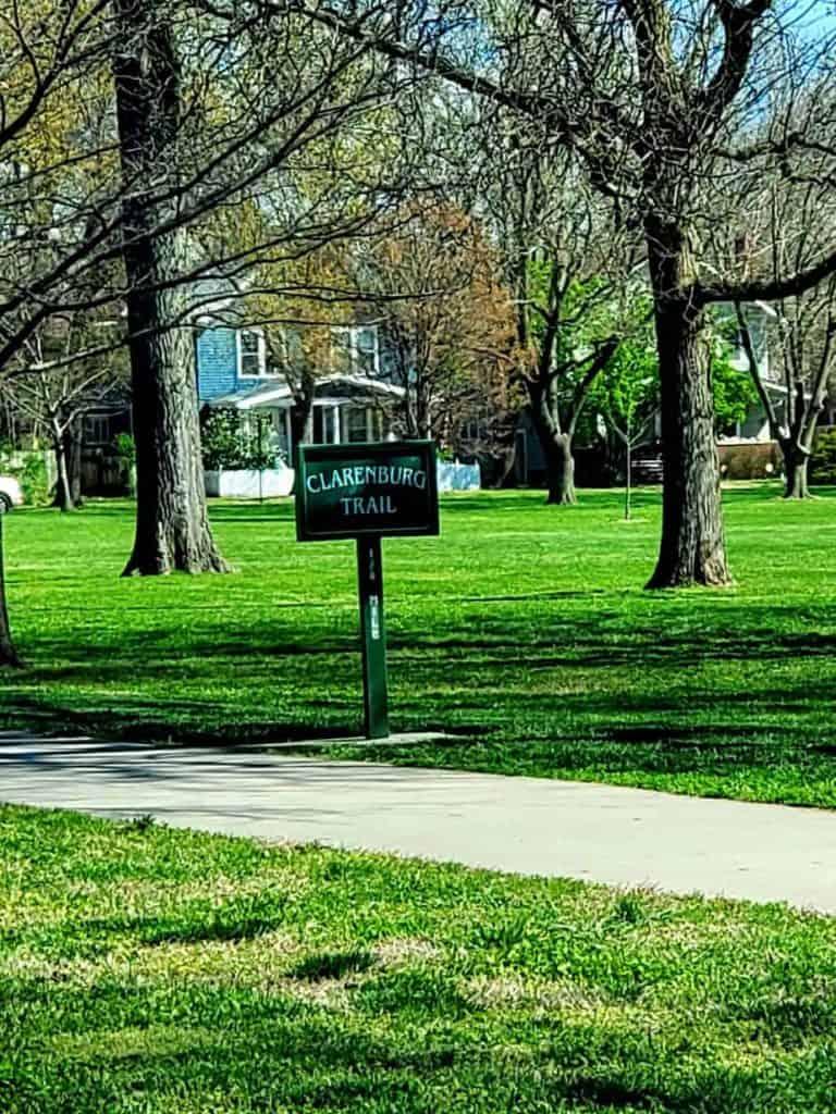 Walking Trail at Manhattan City Park