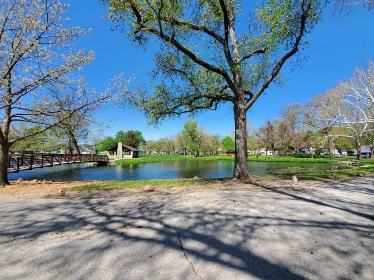 Wamego City Park pond