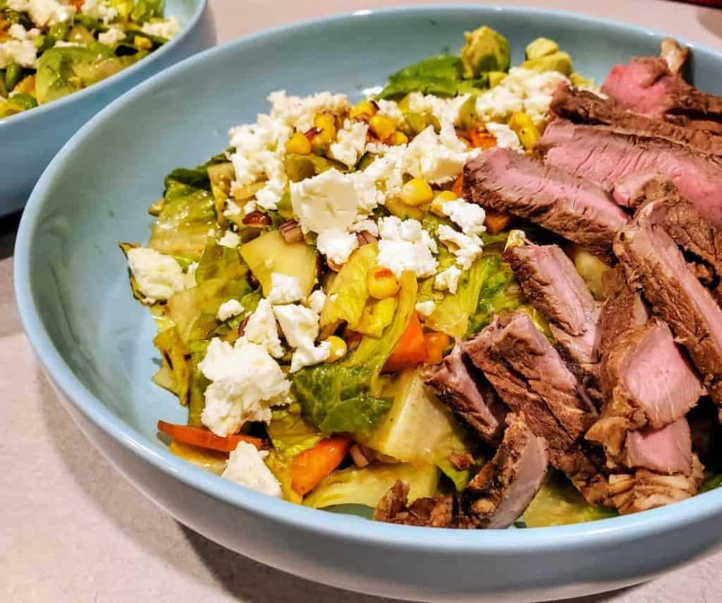 Steak Salad with Thai Dressing