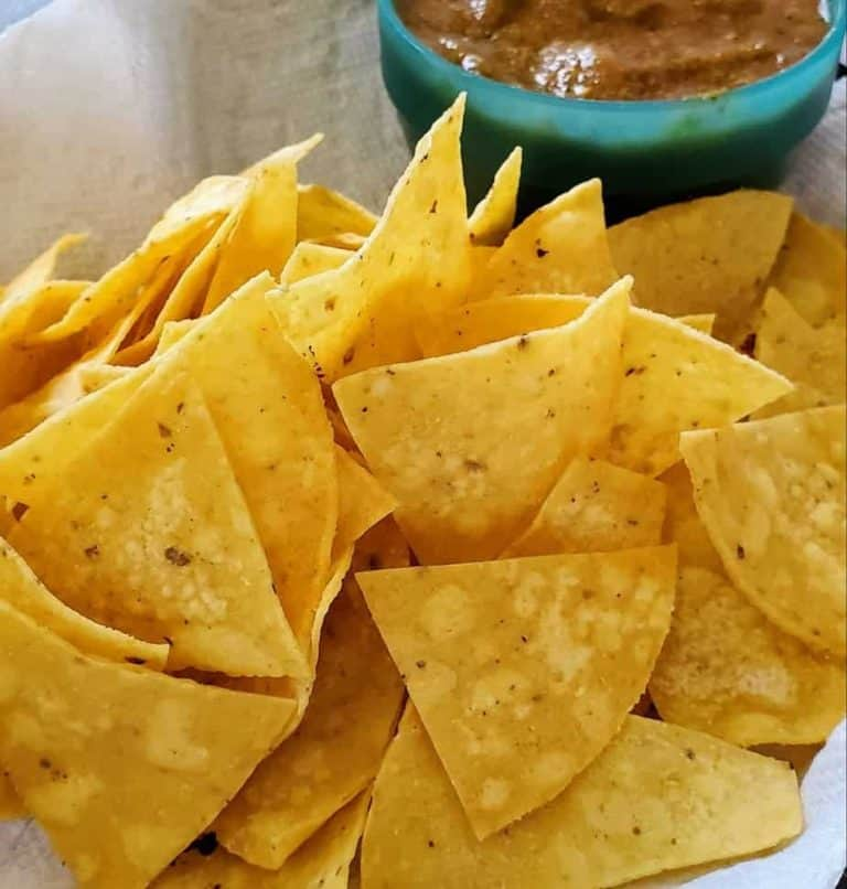 Chips and salsa made to order at Hillside Cafe!