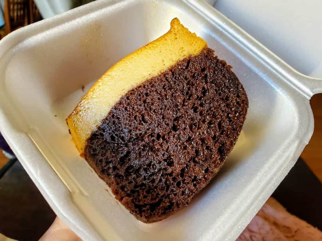 Chocoflan from Frida's Food Truck