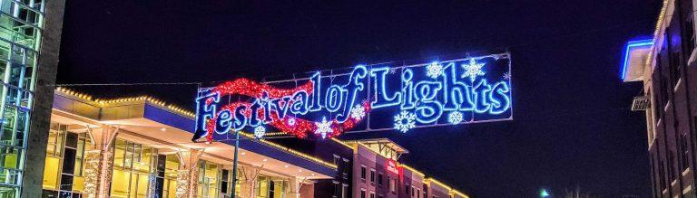 Festival of Lights in Manhattan, KS