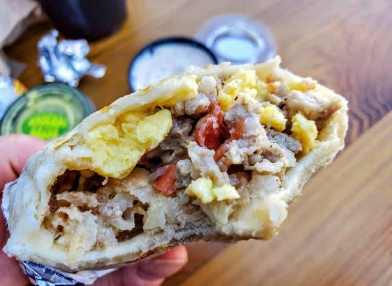 Breakfast Burrito at Public Hall