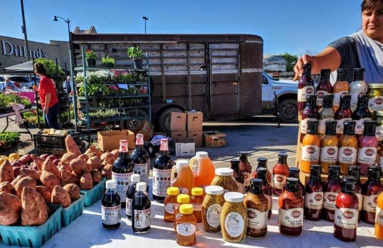 Vanilla, Honey and sauces at the Manhattan Farmer's Market