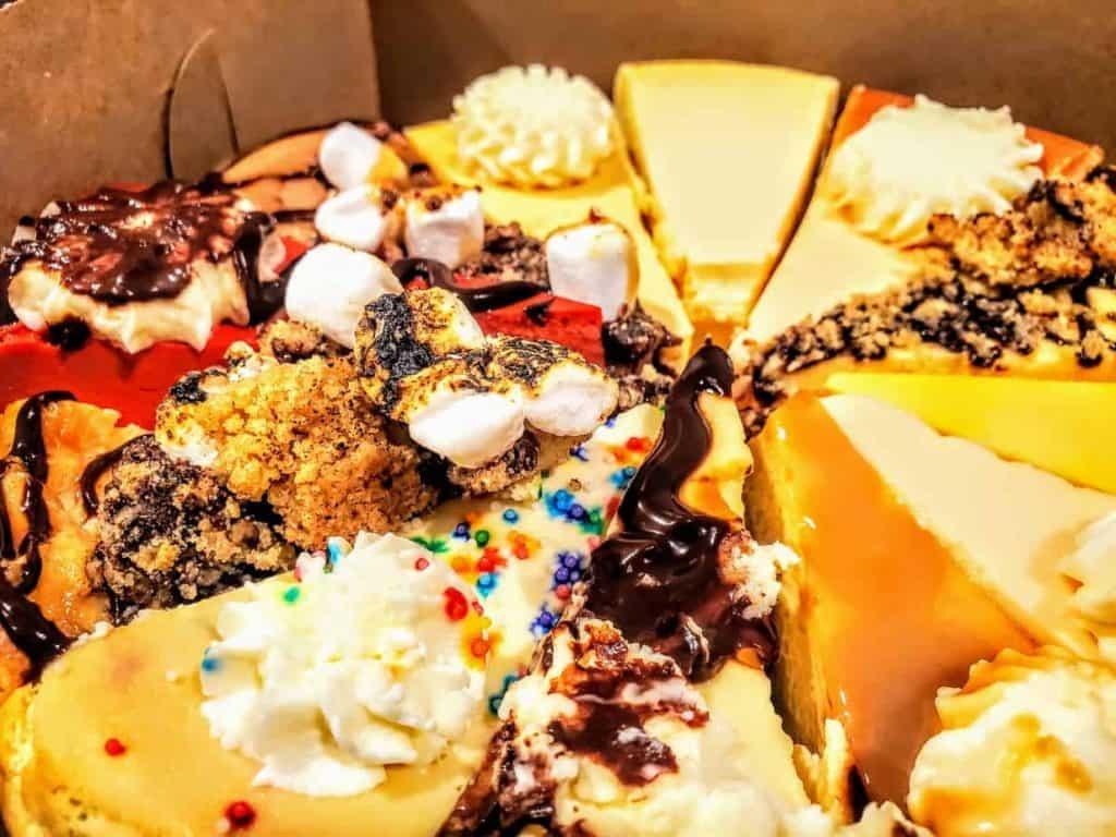 Various Flavors of Cheesecake in Junction City, KS